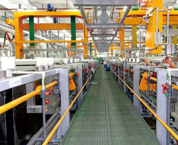 龙门式自动电镀生产线